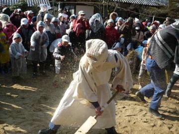砂かけ祭り4