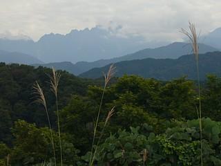 城ヶ平山頂からの剱岳