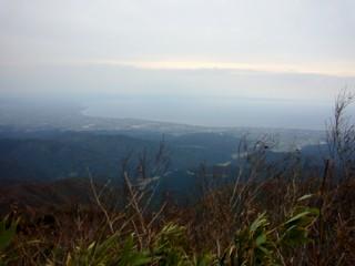 富山湾一望