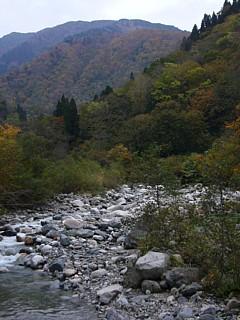 秋も終わりの東又谷