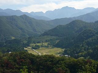 ハゲ山からの剱岳