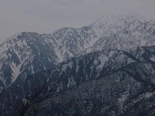 毛勝山と西北尾根