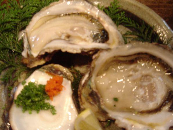 「い志い」夏牡蠣