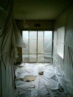 室内塗装の養生