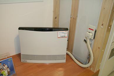 温水式床暖房の装置