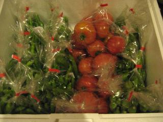 野菜販売用