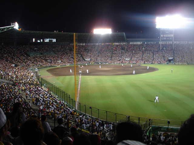 甲子園 阪神vs東京ヤクルト