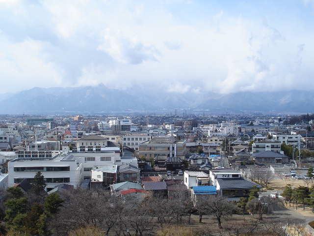 松本城 景色