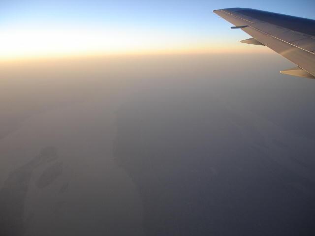 長江 上空