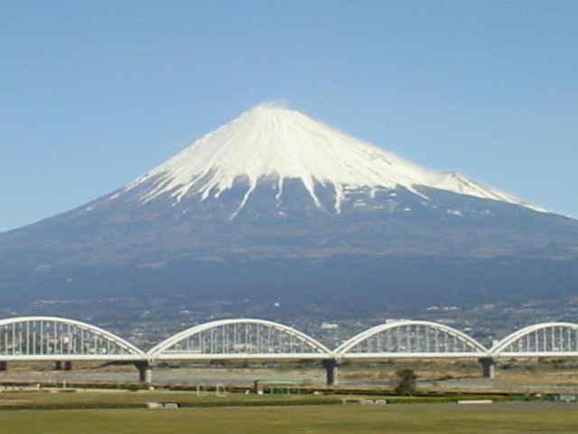 富士山 富士川