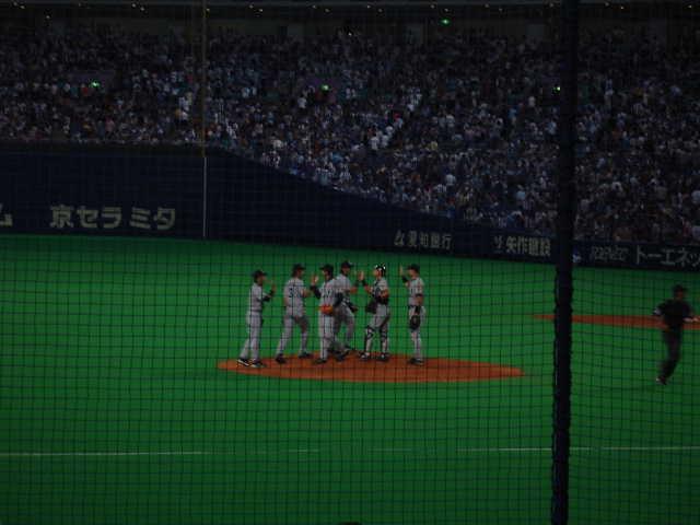 ナゴヤドーム 阪神vs中日