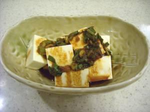 豆腐にかけたヤンニョンジャン.jpg