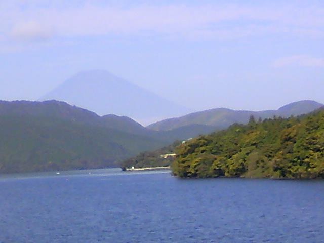 今日の富士山 芦ノ湖 2008年10月13日