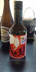 金目づくし持ち込み日本酒.JPG