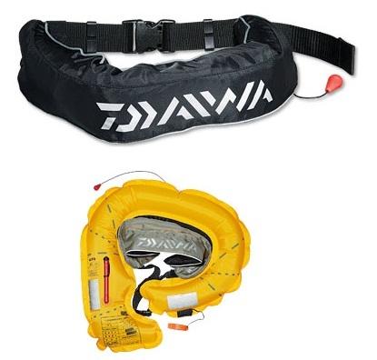 DAIWA・ウォッシャブルライフジャケット(ウエストタイプ手動・自動膨脹式)DF-2200