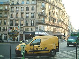 パリ市内 フランス郵便