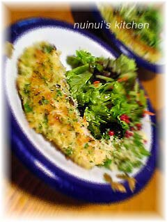 ナイルパーチの香草パン粉焼き