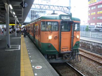 藤枝駅113系