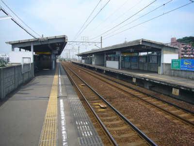 名古屋鉄道 朝倉駅全景