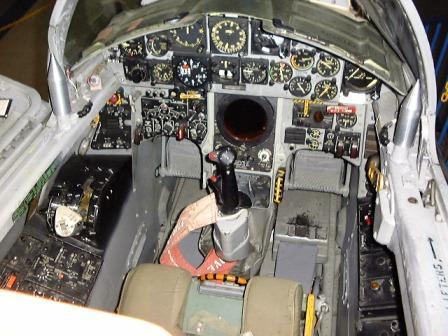 F-104コクピット