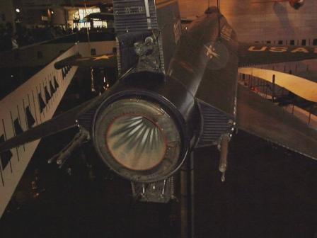 X-15 エンジンノズル