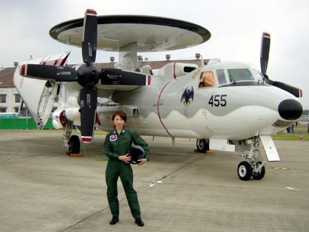 E-2Cとおねーさん 岐阜2005