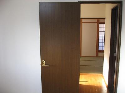 新落書きドア