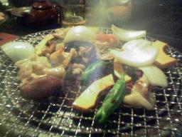 雷炭の焼き肉