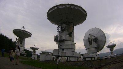 国立天文台野辺山のミリ波干渉計