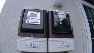 太陽光発電の売買電メーター
