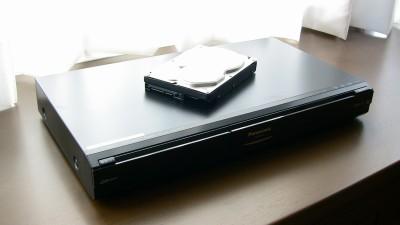 修理から戻ってきたDVD/HDDレコーダー
