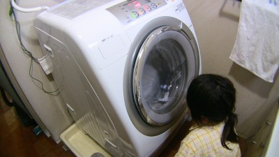 左開きの洗濯機