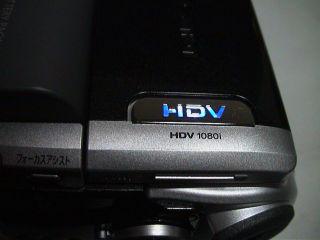 CanonビデオカメラHV10