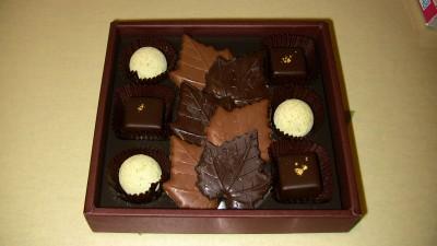バレンタインで妻からもらったチョコ