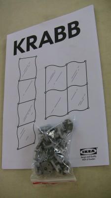 IKEAの鏡「KRABB」