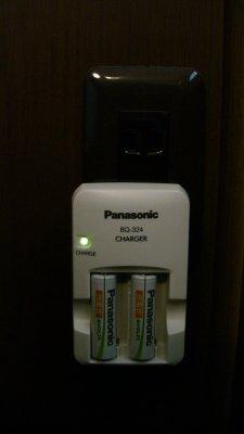 急速充電器 Panasonic BQ-324