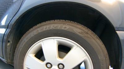 タイヤはGT-HYBRID