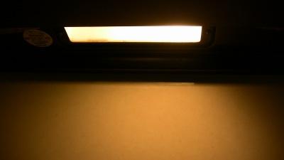電球交換前の照明の明るさ