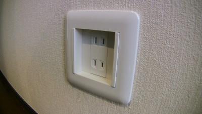 LEDホーム保安灯 外すとコンセント