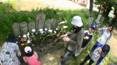 墓参り(七地蔵)
