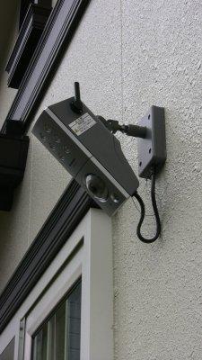 センサーライトつき屋外ワイヤレスカメラVL-W811K