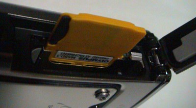 μ1030SWのmicroSDカード用アダプター