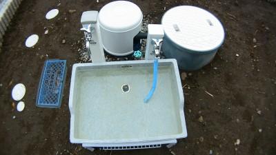 鉄分の多い井戸水