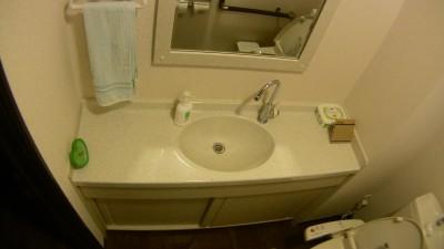一条工務店の手洗いカウンター