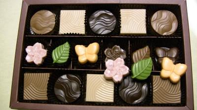 妻から貰ったチョコレート