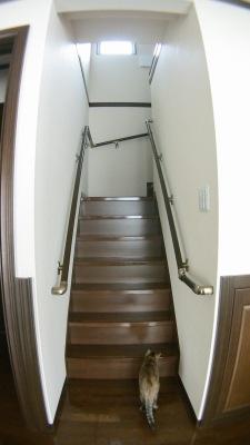 一条工務店の階段手すり追加工事