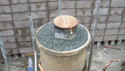 井戸の補強