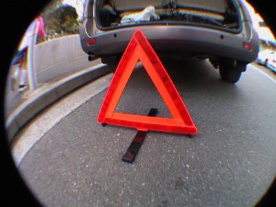 三角停止表示