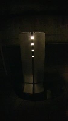 夜の機能門柱(ステイムBタイプ)