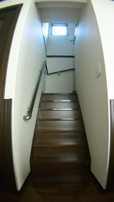 一条工務店の階段手すり追加工事(1階施工前)